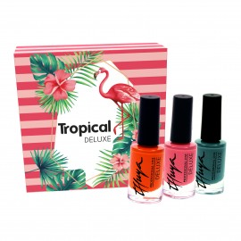 KIT Esmaltes Deluxe Tropical 3 unidades